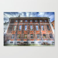 The Chapter House London Canvas Print