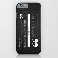 Parenthesis iPhone 6 Slim Case