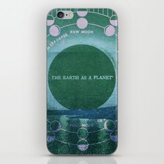 The Earth as a Planet iPhone & iPod Skin