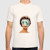 Vylsa Scikona Mens Fitted Tee Natural SMALL