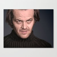 Jack Torrence Canvas Print
