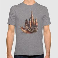 The Snail's Daydream Mens Fitted Tee Tri-Grey SMALL