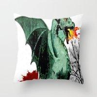 Draco Throw Pillow