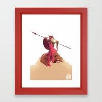 Athena Fully Formed Framed Art Print