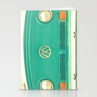 vw Stationery Cards featuring Groovy VW by RDelean
