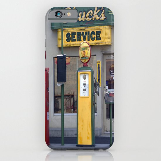 Old Service Station iPhone & iPod Case