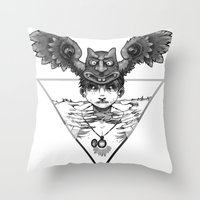 Marquess Naberius Throw Pillow