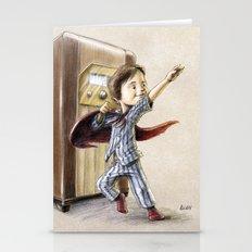 Serial Superhero Stationery Cards