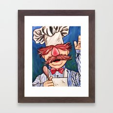 Swedish Chef Framed Art Print