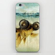 Fish eye lens 02 iPhone & iPod Skin