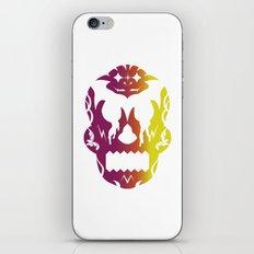 Bloodlust Skull Alt iPhone & iPod Skin