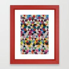 Wave of life Framed Art Print