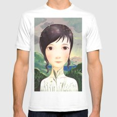 0034_Leve Mens Fitted Tee White SMALL