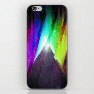 The Cosmic Pyramid iPhone & iPod Skin