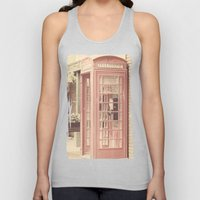 London is calling my name Unisex Tank Top