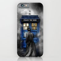 iPhone Cases featuring Tardis doctor who lost in the Mist apple iPhone 4 4s 5 5s 5c, ipod, ipad, pillow case and tshirt  by Three Second