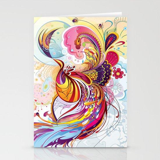 Phoenix Stationery Card