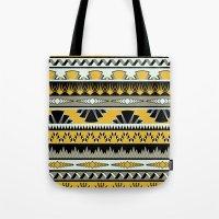 Art Deco Stripes - Honey Tote Bag