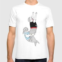 On How Some Species Of M… Mens Fitted Tee White SMALL