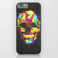 Meduzzle: Colorful Geometry Skull iPhone 6 Slim Case