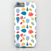 collage bits pattern iPhone 6 Slim Case
