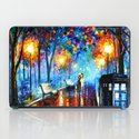 STARRY NIGHT TARDIS iPad Case