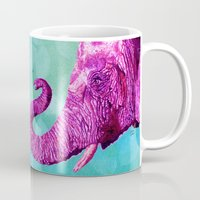 Elephant Cyril. Candy Colored Edition Mug