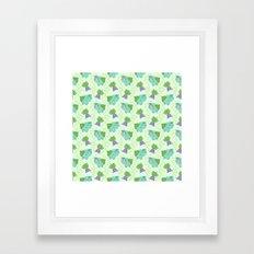 Plant pals Framed Art Print