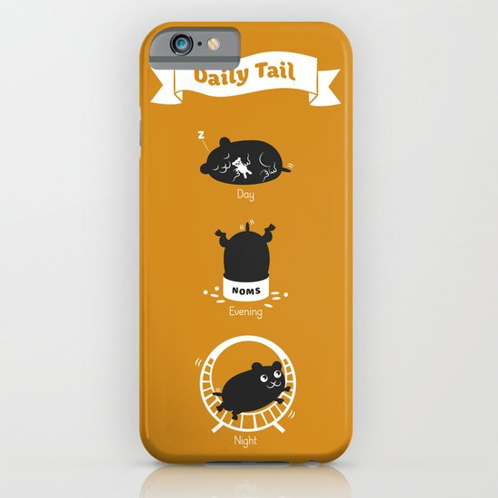 The Daily Tail Hamster iPhone & iPod Case