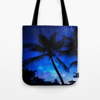 Cosmic Palms Tote Bag