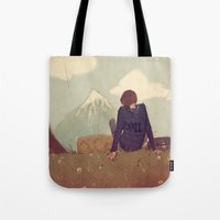 Here and There Tote Bag