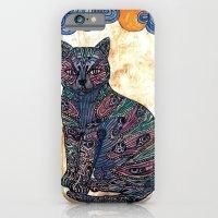 My blue cat.   iPhone 6 Slim Case