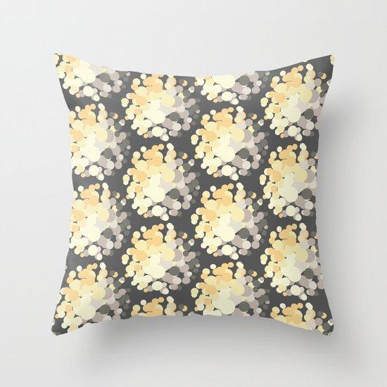 Pom Pom Power Throw Pillow