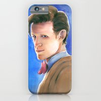 iPhone & iPod Case featuring The Eleventh Doctor by Tiffany Willis
