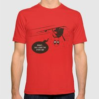 Chimichangas Mens Fitted Tee Red SMALL