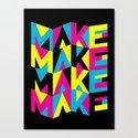 MYCK Canvas Print