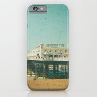 iPhone & iPod Case featuring Brighton Pier by Cassia Beck