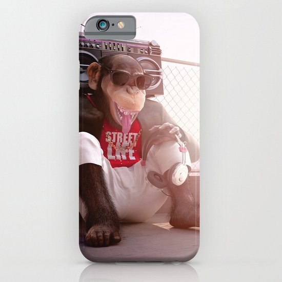 Monkey Beat iPhone & iPod Case