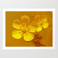 FLOWERS - Bonnie Butterc… Art Print