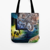 Literary Octopus Tote Bag