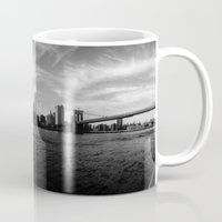 New York Skyline - Black & White Mug