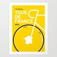 MY TOUR DE FRANCE MINIMA… Art Print