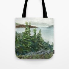 Lobster Cove Head Lighthouse Tote Bag
