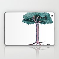 Spiral Tree Laptop & iPad Skin
