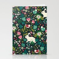 friends Stationery Cards featuring Forest Friends by Anna Deegan