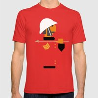 The man who would be king Mens Fitted Tee Red SMALL