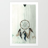 Dream Catcher Reservations Art Print