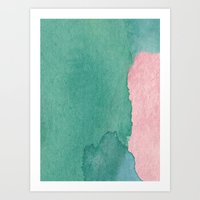 Water And Color 9 Art Print