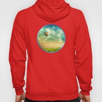 The Colorful Balloon In The Sky - Painting Style Hoody