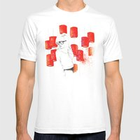 Solitudine Mens Fitted Tee White SMALL